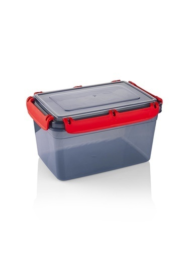 Schafer Green Plastik Saklama Kabı-2,4 LT-96044 Gri